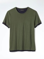 Banana Republic Relaxed Double-Layer Tee