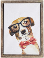 Pier 1 Imports Sophisticated Pup Dog Art