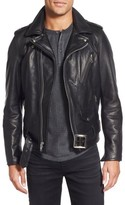 Schott NYC Men's Perfecto Slim Fit Waxy Leather Moto Jacket