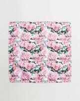 Asos Pocket Square In Floral Design