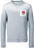 Kent & Curwen floral embroidery jumper - men - Cotton - L