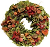 The Well Appointed House Dried Pods & Pomegranates Thanksgiving Wreath-Available in Four Different Sizes