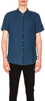 AG Adriano Goldschmied Nash Short Sleeve Shirt. - size L (also in XL)