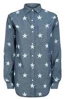 Denim & Supply Ralph Lauren Boyfriend Star Print Shirt
