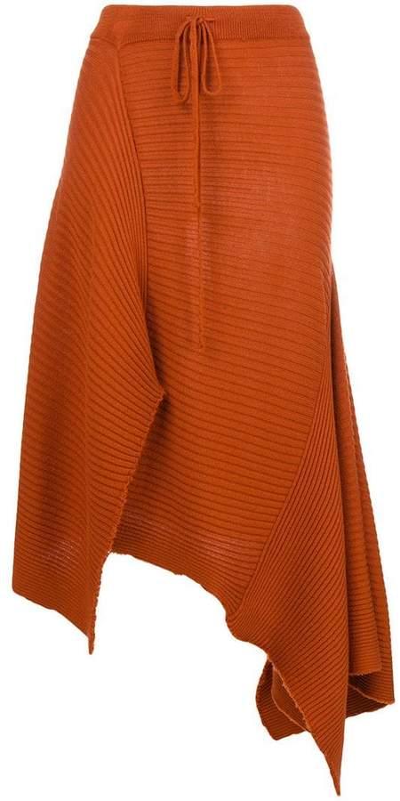 Marques Almeida Marques'almeida asymmetric A-line skirt