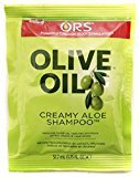 Organic Root Stimulator Olive Oil Creamy Aloe Shampoo, 1.75 oz (Pack of 3)