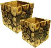 Bed Bath & Beyond Decorative Log Storage Box