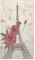 Eiffel Tower Towel New Year/Christmas Gift French Paris Amazing Eiffel Tower City Of Love Thin Soft Towel(One-sided Printing)