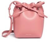 Mansur Gavriel 'Mini Mini' leather bucket bag