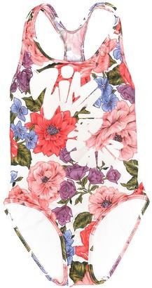 Zimmermann Kids Floral-Print Swimsuit