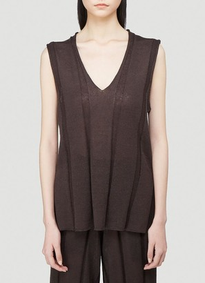 Issey Miyake Knitted Tank Top