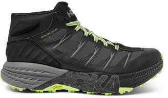 Hoka One One Speedgoat Mesh And Rubber Trail Running Sneakers