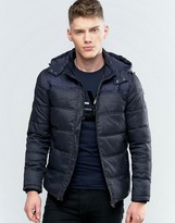 Calvin Klein Jeans Ogent Padded Jacket With Hood
