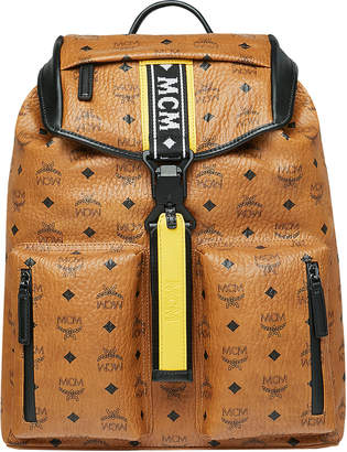 MCM Men's Raymonde Two-Pocket Faux-Leather Backpack