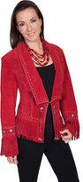 Scully Women's Classic Long Lapel Suede Jacket L196