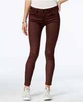 Celebrity Pink Juniors' Infinite-Stretch Coated Skinny Jeans
