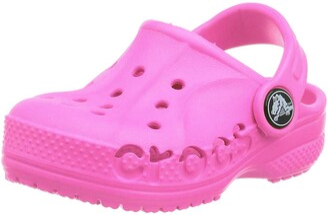 Crocs Kids' Baya Clog Comfortable Slip On Water Shoe for Toddlers Boys Girls