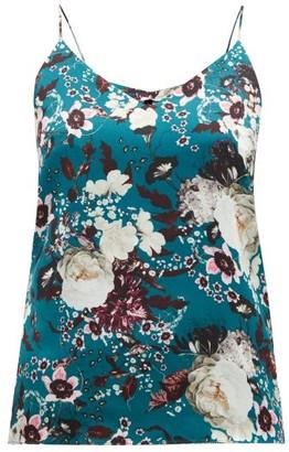 Erdem Mayelle Eastbury Floral-print Satin Camisole - White Print