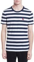Burberry Men's Torridge Trim Fit Stripe T-Shirt