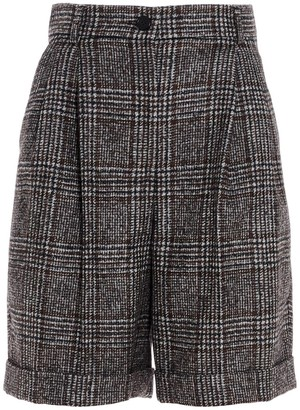Dolce & Gabbana Tartan Tailored Shorts