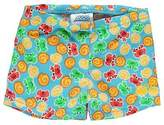 Zoggs Kids Boys Ocean Racer Swimming Briefs Junior Stretch Print All Over