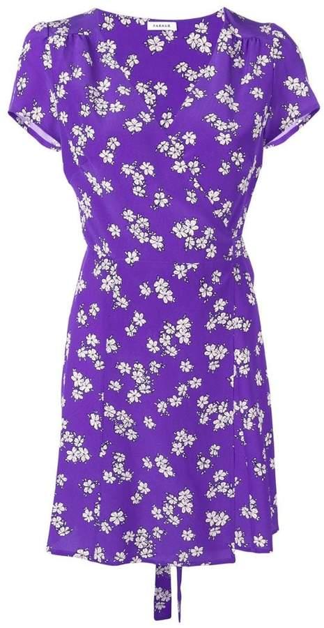 P.A.R.O.S.H. floral print wrap dress