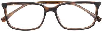 HUGO BOSS Tortoiseshell Square-Frame Glasses