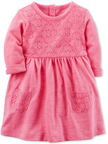 Carter's Floral-Lace Cotton Dress, Baby Girls (0-24 months)