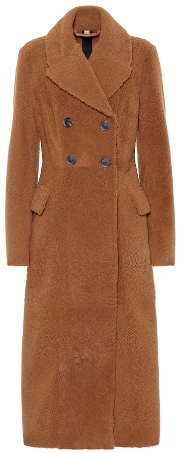 Burberry Teddy shearling coat