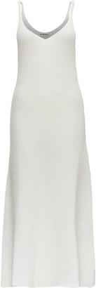 Jil Sander Long Dress In Mohair