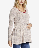 Jessica Simpson Maternity Peplum Top