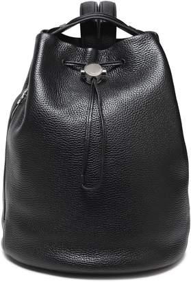 Kara Textured-leather Backpack