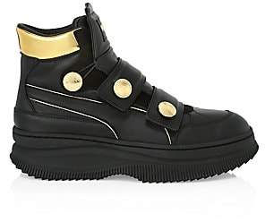 Balmain PUMA x Women's Puma x Deva Straps Leather Sneakers