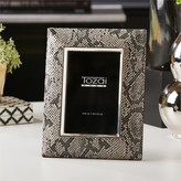 The Well Appointed House Metal Snakeskin Photo Frame - IN STOCK IN OUR GREENWICH STORE FOR QUICK SHIPPING - 3 LEFT.