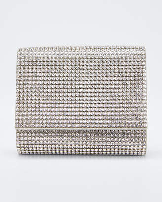 Judith Leiber Couture Micro Fizzy Beaded Clutch Bag