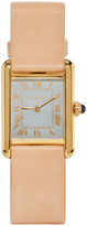 Lacalifornienne Tan Small Cartier Tank Watch