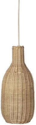 ferm LIVING Braided Rattan Bottle Lampshade