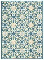 Nourison Waverly Sun & Shade Starry Eyed Porcelain Indoor/Outdoor Rug