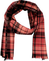 Sonia Rykiel Wool Plaid Scarf