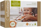 Infantino Fresh Squeezed Squeezed Pouches - 50 ct