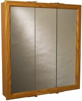 ZPC Zenith Products Corporation Zenith Products K30 Wood Tri-View Medicine Cabinet