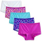 Fruit of the Loom Girls 6-16 5-pk. Breathable Boyshorts