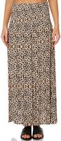 Swell Animal Wrap Maxi Skirt