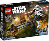 Lego Star Wars Scout Trooper & Speeder Bike set