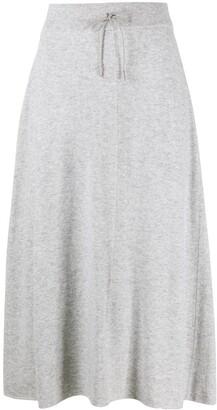 Fabiana Filippi Drawstring Waist Skirt