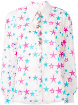 DELPOZO star print shirt - women - Cotton - 38