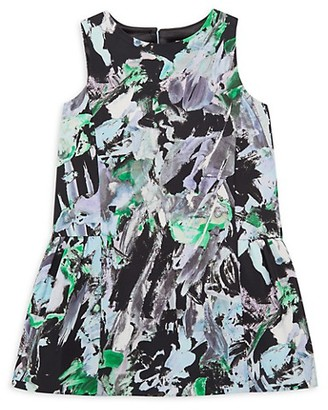 Milly Little Girl's Floral-Print Dress