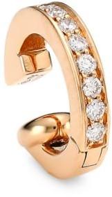 Repossi Berbere 18K Rose Gold & Diamond Single Ear Cuff