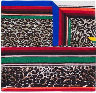 Pierre Louis Mascia Striped Woven Scarf