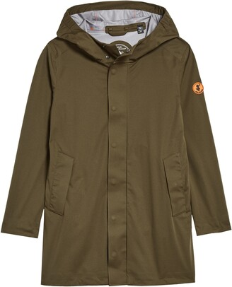 Save The Duck Hooded Rain Jacket